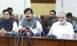 KP govt warns protesting doctors of departmental action upon failure to resume duty