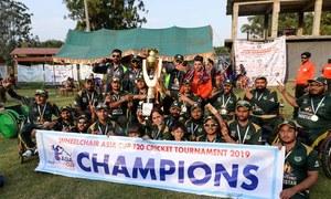 ویل چیئر ٹی ٹوئنٹی کپ: پاکستان، بھارت کو ہرا کر ایشین چیمپئن بن گیا