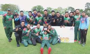 Soumya, Mosaddek lead Bangladesh to tri-series title