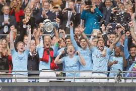 City crush Watford to complete treble in style