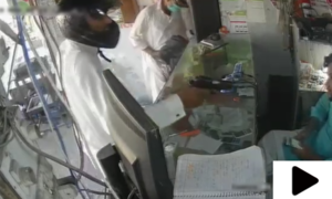 اسلحے کے زور پر موبائل فون کی دکان میں لوٹ مار