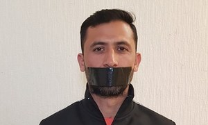 'Gagged' Junaid Khan shares cryptic photo after being axed from World Cup squad