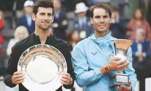 Nadal outplays Djokovic to land ninth Rome title