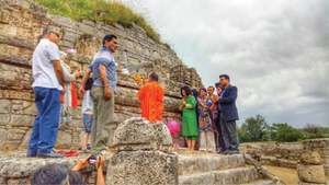Vesak Day celebrated at Taxila's Dharmarajika Stupa