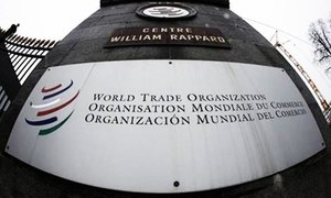 WTO quarterly trade growth indicator at nine-year low