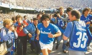 Asif Kapadia's documentary retraces rise and fall of Maradona