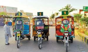 Move to regulate movement of motorcycle rickshaws
