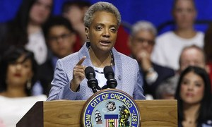 First black woman sworn in as Chicago mayor
