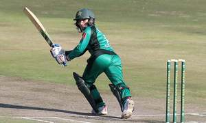 Dar's demolition goes in vain as Pakistan Women lose 4th T20I