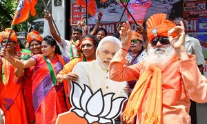 بھارت میں پھر مودی سرکار، بی جے پی کی واضح برتری