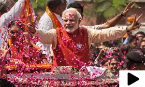 ہندوستان میں الیکشن نتائج کا اعلان