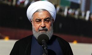 ہم پر بم گر جائیں، اپنی منزل سے پیچھے نہیں ہٹیں گے، ایرانی صدر