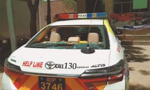Motorway police officers and staff injured, patrol cars damaged by mob near Sehwan