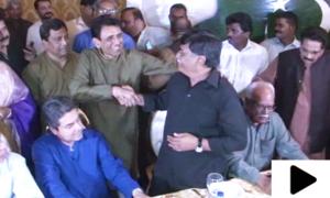 ایم کیو ایم پاکستان کی افطار میں پہلی بار آفاق احمد کی شرکت