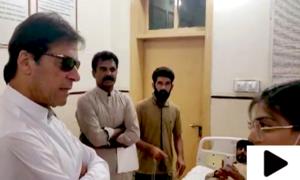وزیراعظم کا ڈی ایچ کیو ہسپتال کا دورہ: مریضوں نے شکایات کے انبار لگادیئے