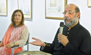 Renowned artist urges the affluent to contribute to society