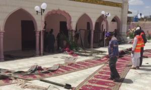 کوئٹہ: مسجد دھماکے میں جاں بحق افراد کی تعداد 4 ہوگئی