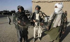 Taliban attacks kill 10 Afghan troops, four policemen