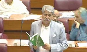 علی وزیر کی گرفتاری سے متعلق اسپیکر کو آگاہ کرنا چاہیے تھا، نوید قمر
