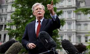 Iran 'almost certainly' behind ship attacks off UAE: Trump adviser Bolton