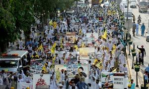 ملک بھر میں 'یوم القدس' کی ریلیاں اور مظاہرے