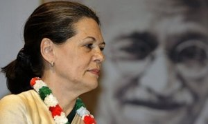 Sonia Gandhi elected leader of Congress lawmakers in Lok Sabha