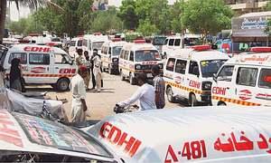 بدین: ٹریفک حادثے میں مویشیوں کے 7 بیوپاری جاں بحق
