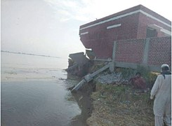 Farmers suffer losses as Indus erosion hits Rahimyar Khan villages