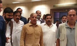 Shehbaz Sharif returns to Pakistan ahead of upcoming budget sessions