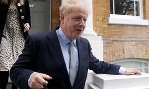 Boris Johnson wins first round of UK leadership vote