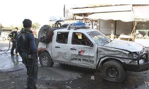 Suicide bomber kills 11 in Afghanistan