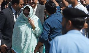 Faryal Talpur arrested by NAB officials in Islamabad