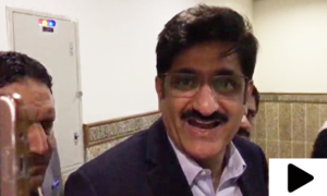 وزیراعلیٰ سندھ مراد علی شاہ کا پاک۔بھارت میچ پر دلچسپ تبصرہ