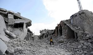 Syria flare-up kills 35 fighters,10 civilians