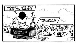 Cartoon: 16 June, 2019