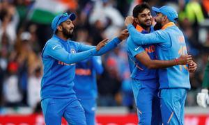 بھارت کی ورلڈکپ میں پاکستان کو لگاتار ساتویں شکست