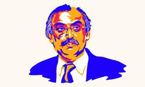 Syed Shabbar Zaidi: Auditor-in-chief