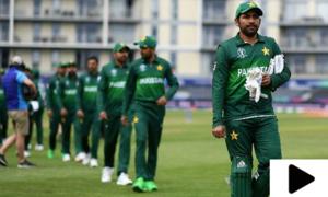 پاکستانی کرکٹ ٹیم کی سیمی فائنل تک پہنچنے کی راہ دشوار