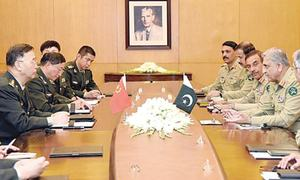 Army chief reaffirms commitment to ensure CPEC security