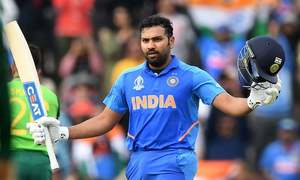 Rohit stays cool after brilliant century