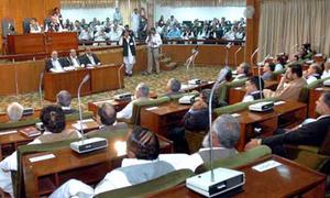 AJK govt presents over Rs120 billion deficit-free budget
