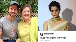 I support Kangana all through, says Hrithik Roshan's sister Sunaina