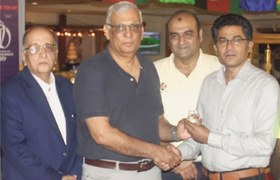 Nasir awarded gold medal for services to softball