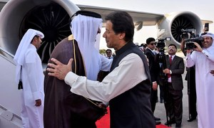 امیر قطر کا پاکستان آمد پر پرتپاک استقبال