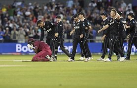 West Indies' Brathwaite gets so close, yet so far from World Cup upset