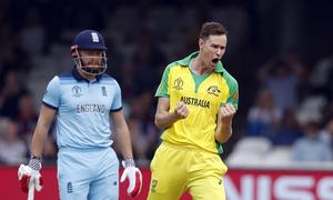 World Cup success ideal tonic for Australia's Behrendorff after injury woes