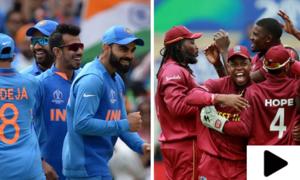کرکٹ ورلڈکپ میں آج بھارت اور ویسٹ انڈیز مد مقابل ہوں گے