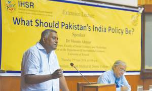 'Foreign policy towards India should be made by qualified individuals'