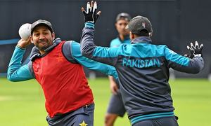 In pictures: Pakistan spare no efforts in preparation to face off against Afghanistan