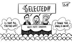 Cartoon: 30 June, 2019